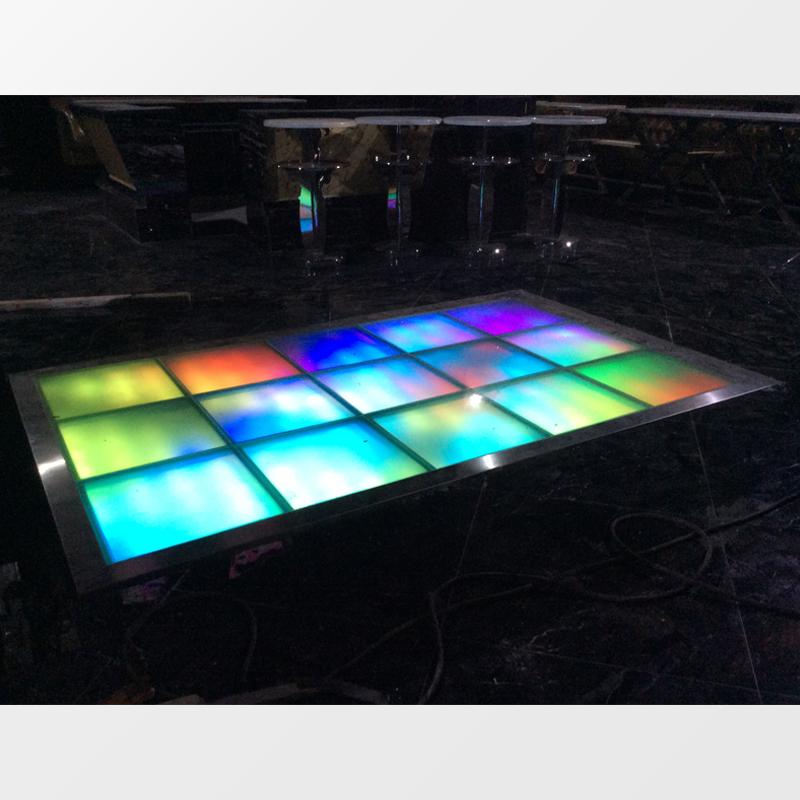 创意灯光液压升降舞台