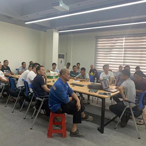 浩翔机械开展安装部会议总结